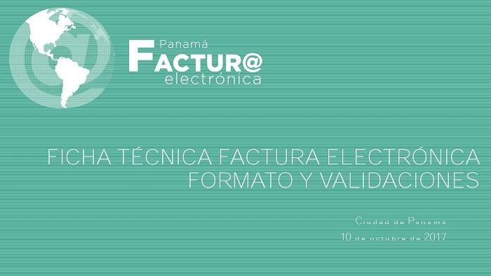 ficha técnica factura electronica formato y validaciones panacamara
