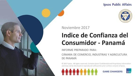 Índice de Confianza del Consumidor – Panamá Medición Noviembre 2017