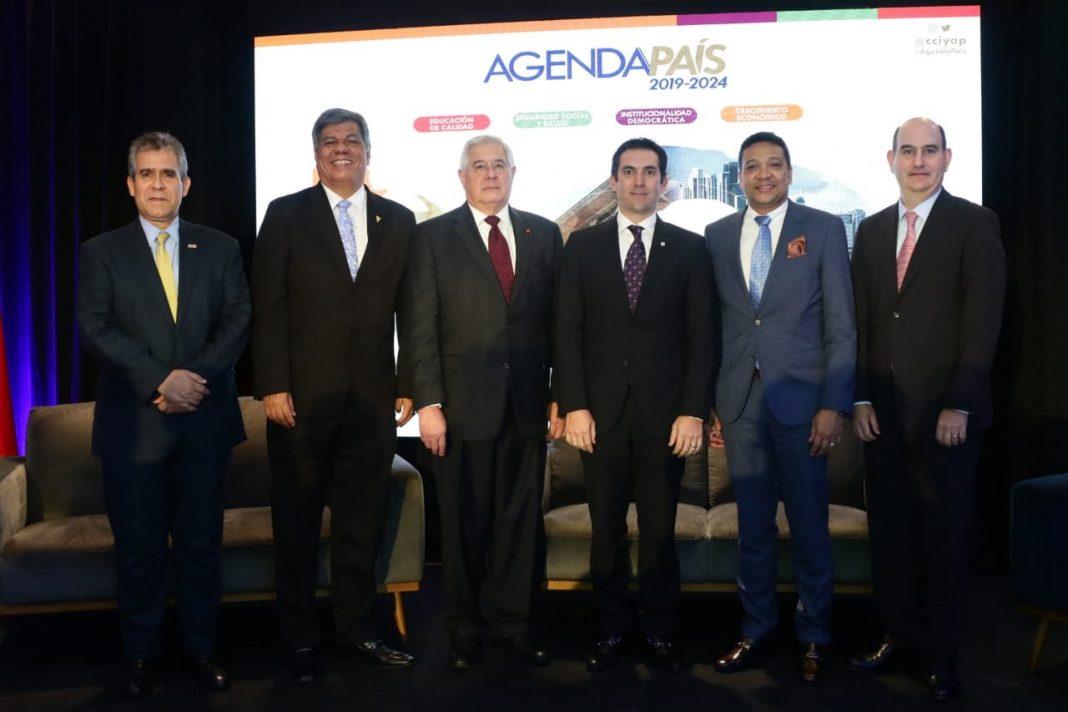 """Panelistas del 2 Foro Agenda País, """"Por un Sistema de Pensiones (Invalidez, Vejez y Muerte): Universal, Solidario y Sostenible"""""""