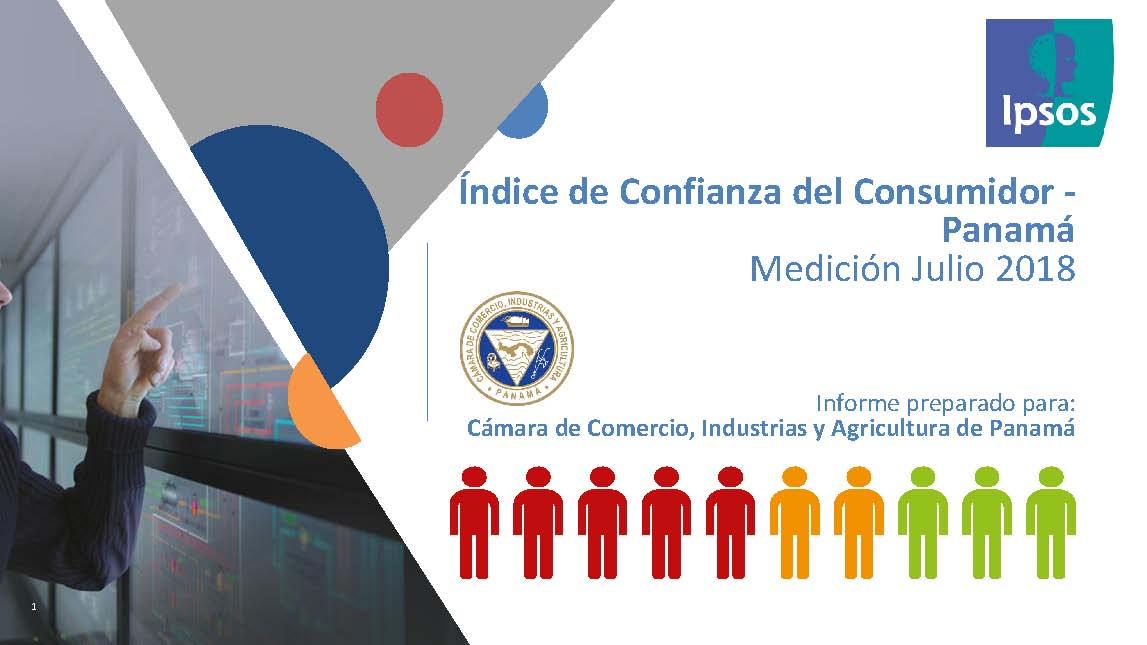 Índice de Confianza del Consumidor – Panamá Medición julio 2018