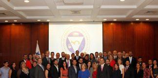 Participantes de juramentación nuevas empresas miembros de la CCIAP