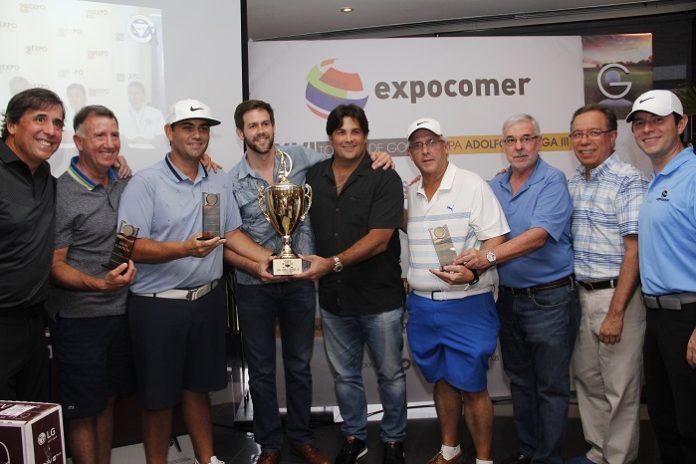 Ganadores del XVI Torneo de Golf Expocomer
