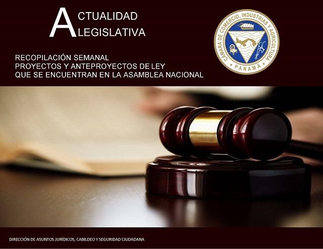 Actualidad legislativa – 20 de noviembre 2019