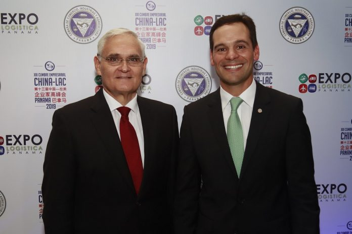 Jorge Luis Quijano y Jorge Juan de la Guardia