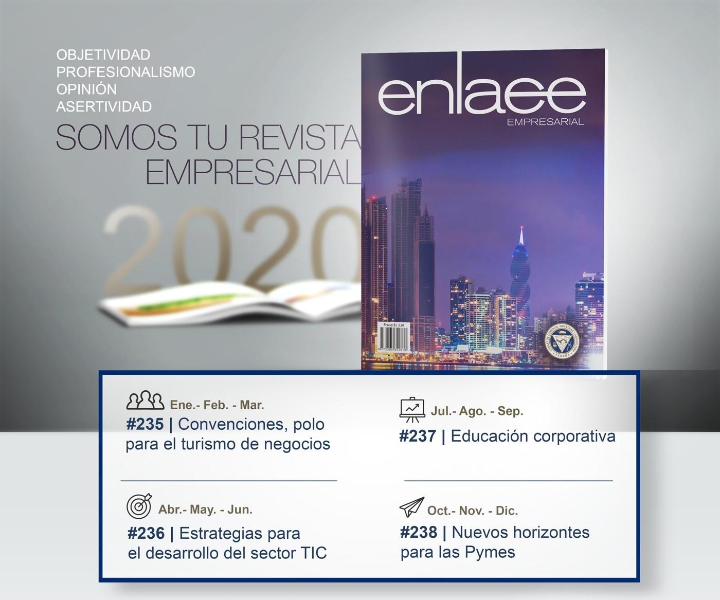Temas Revista Enlace 2020