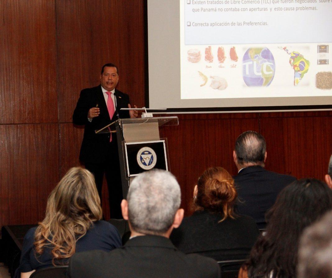 Rodolfo Samuda, subdirector General Técnico de la Autoridad Nacional de Aduanas