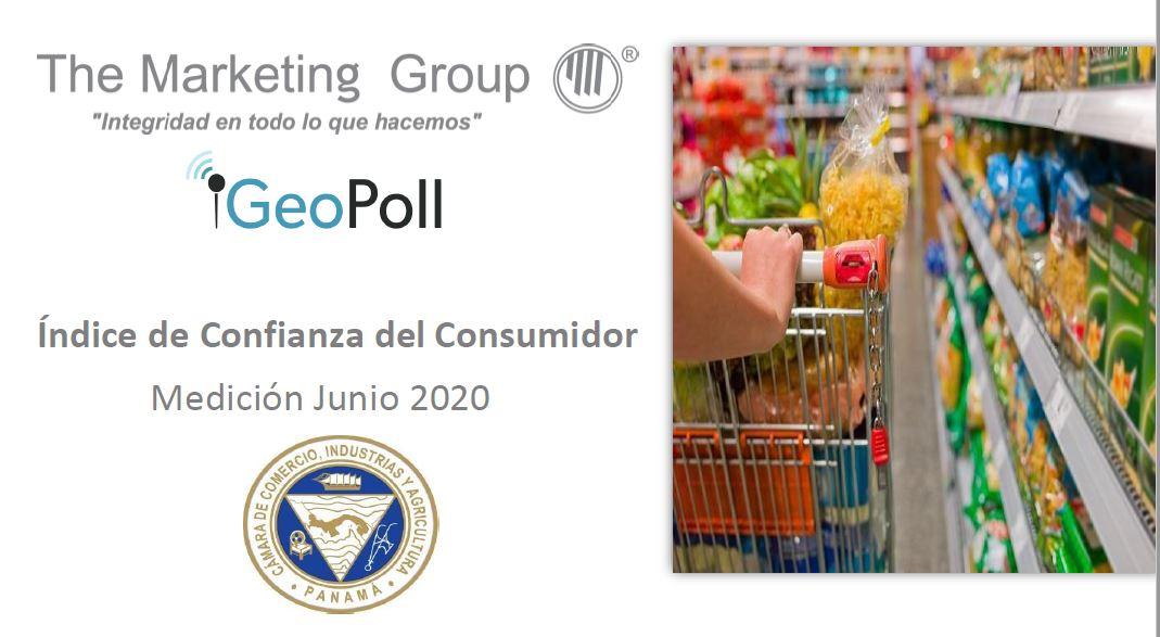 Índice de confianza del consumidor panameño junio 2020