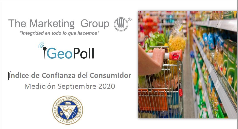 Índice de confianza del consumidor panameño septiembre 2020