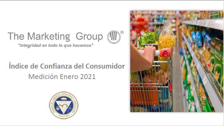 Índice de confianza del consumidor panameño enero 2021