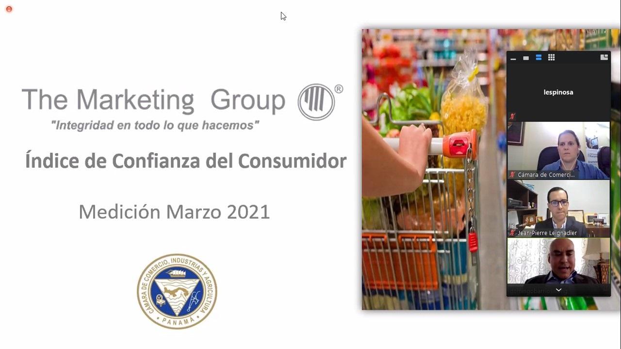 Índice de confianza del consumidor panameño mayo 2021